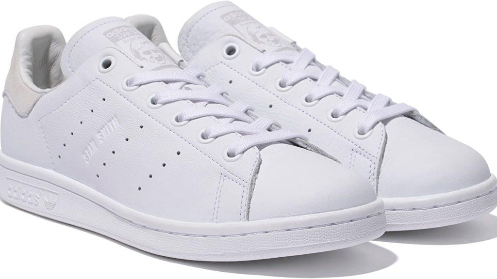 Adidasスタンスミスホワイト×グレー