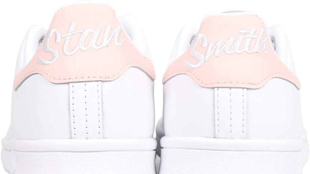 Adidasスタンスミスホワイト×ピンク