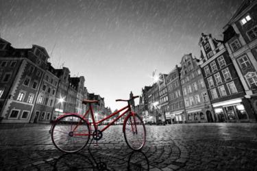 雨の日の自転車通勤